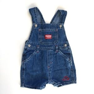 be2128cb Vintage Baby B'Gosh Denim Shortall Romper